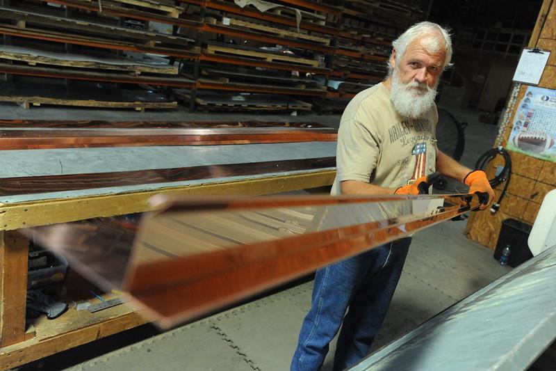 Metal Fabricator/Warehouse Supervisor Jeff Weaver
