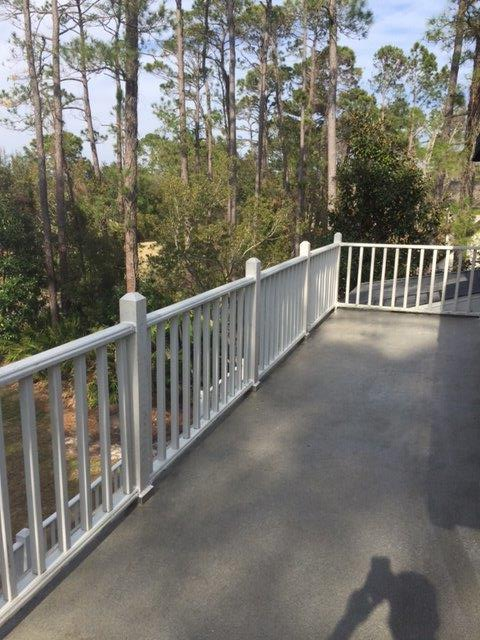 Completed Liquid Applied Deck Waterproofing