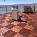Waterproofed Residential Deck in St Simons GA
