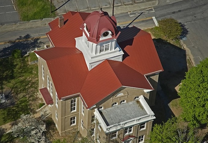 Jackson County Courthouse Commercial Metal Roofing