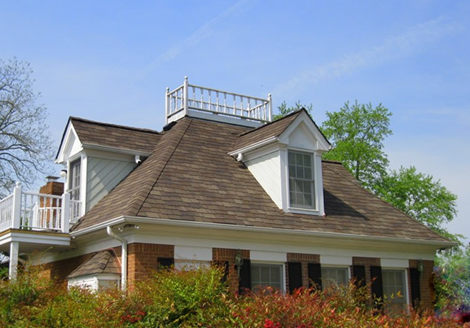 Residential Shingles in Woodland Tuscan Sunset