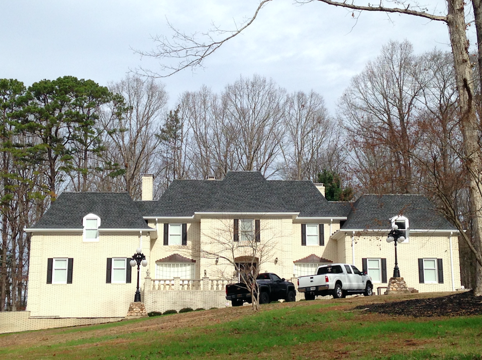 Single Family Residential Charcoal Shingle Roof