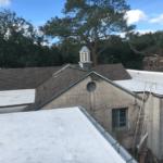 side view of tile roofing cornbarn saint simons 1