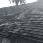 close up view of tile roofing cornbarn saint simons