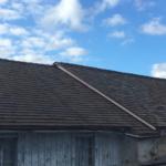 side view of tile roofing cornbarn saint simons 3